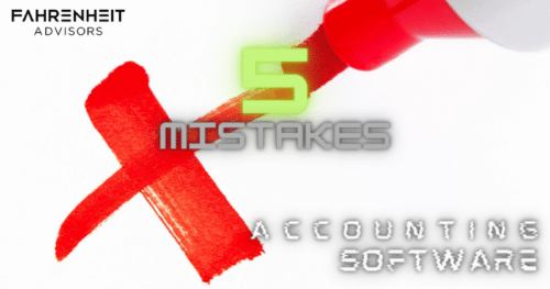 Avoid These 5 Common Accounting Software Mistakes