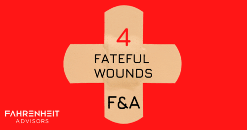 Four Fateful Wounds We Find in Finance and Accounting