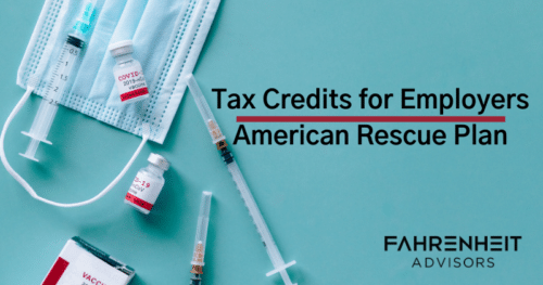 Tax Credits Available For Employers Allowing Employees to Get COVID Vaccine